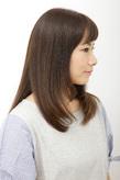 毛先ニュアンスの大人系ナチュラル美髪ストレート