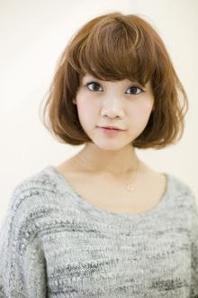 人を選ばない!誰でも似合う万能1カールボブ☆|apish AOYAMAのヘアスタイル