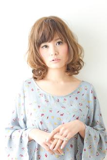 フワフワパーマ☆|apish AOYAMAのヘアスタイル
