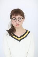 メガネに合う・短め前髪 アレンジ|ARC+のヘアスタイル