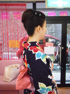 粋な江戸前風アップで♪|ヘアー アンド メイク アロマ (美容室アロマ) 都立大学駅前店のヘアスタイル