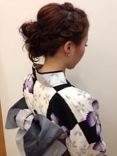 ゆかたアレンジ|La・Coupe Artkey kanayamaのヘアスタイル