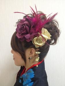 一生に一度の記念に・・・|Hair&nail h Blancheのヘアスタイル