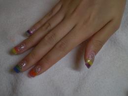 キラキラ☆キャンディーネイル|Hair&nail h Blancheのネイル