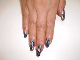 クール◆ペイントNAIL|Hair&nail h Blancheのネイル