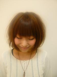 ショートボブ★ Hair&nail h Blancheのヘアスタイル