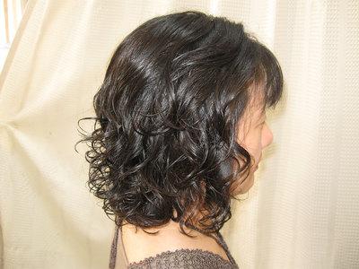 やわらかふんわりパーマ|エル美容室のヘアスタイル