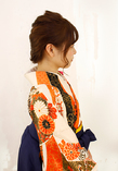 編みおろしアレンジ