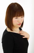 毛先に自然な丸みを残した縮毛矯正|B2C梅田のヘアスタイル