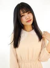 ブリーチ毛でもサラサラストレート☆|B2C梅田のヘアスタイル