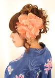 浴衣のアレンジヘア