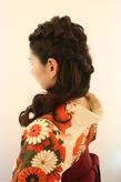 袴が合う髪形