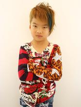 キッズカラー|Raffine 三宮のヘアスタイル