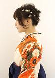袴ヘアアレンジ