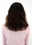 やわらかい質感のランダムパーマ×ふんわり前髪