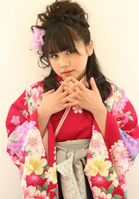 袴の着付け+ヘアアレンジ