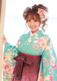 袴の着付けとヘアセット