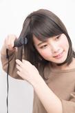 素髪感覚でスリークなツヤのニュアンスヘア