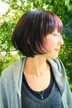 スッキリとしたボブラインで首すじがキレイにみえます☆|hair relax spa Beige 恵比寿/代官山のヘアスタイル