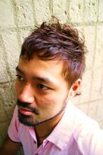 サイドはスッキリと、トップに動きを出してナチュラルモヒカン☆|hair relax spa Beige 恵比寿/代官山のメンズヘアスタイル
