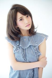 夏髪♪小顔ミディ|BiBi のヘアスタイル