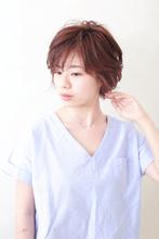 初夏にぴったり★大人向け涼し気ショートヘア|BiBi  千葉 梢のヘアスタイル