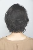 大人のツヤ髪レイヤーショート