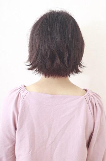 前髪2WAYウルフボブ