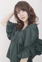 大人コンサバ ツヤ感ウェーブ|BiBi  平井 敬美のヘアスタイル