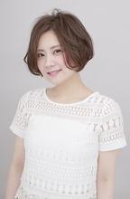 ノーバング大人ラフボブ|BiBi  平井 敬美のヘアスタイル