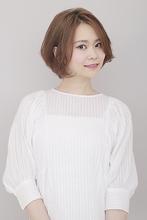 ノーバング好印象ボブ|BiBi  平井 敬美のヘアスタイル