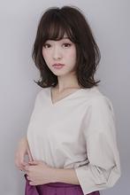 【秋トレンド】女子力アップ 大人ミディアム|BiBi のヘアスタイル