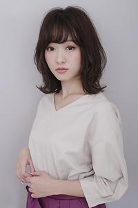 【秋トレンド】女子力アップ 大人ミディアム