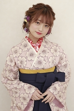 【卒業式】フェミニン ルーズツインテール|BiBi  佐川 友里のヘアスタイル