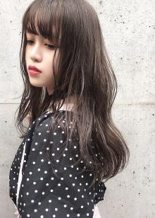 ブリーチなし☆モカブラウン|blue faces 表参道のヘアスタイル