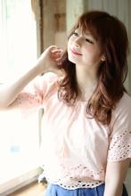 大人女性のふんわり無造作ウェーブ|Blume COSTA 石澤 絢子のヘアスタイル