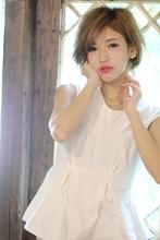 マニッシュなショートボブ|Blume COSTA 石澤 絢子のヘアスタイル