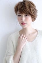 大人のショートミセススタイル|Blume COSTA 石澤 絢子のヘアスタイル