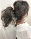 外国人風 イルミナアッシュカラー|Blume COSTAのヘアスタイル