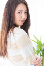 ナチュラルストレート♪|Hair&Beauty B's amor 尾張旭店 のヘアスタイル