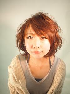 大人可愛い♪フリンジミディ|PACE hair make color 今福本店のヘアスタイル