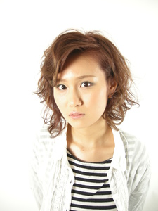 summer×mode×color PACE hair make color 今福本店のヘアスタイル