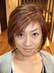 オススメのお人形ミディアムショートのクールボブ|Buzz salon for hair   のヘアスタイル