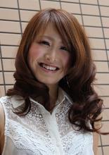 Aラインのゆるふわ|Buzz salon for hair   のヘアスタイル
