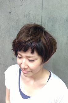 ショートヘア|calmeのヘアスタイル