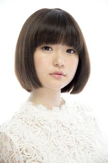 うねり改善/自然な丸みの綺麗めボブスタイル|Beauty&Care CALON 銀座のヘアスタイル