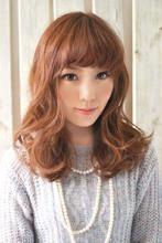 愛されふんわりミディ|CARE KOBE 藤田 光のヘアスタイル