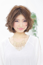 センターバングボブ|CARE KOBE 福岡 慶子のヘアスタイル