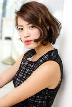 赤みを引き算したダークベージュで凛と知的に|CARE KOBE Sumiko Ikeda(池田 須美子)のヘアスタイル