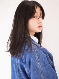無造作×黒髪
